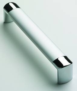 Satin Chrome Chrome Bar Handle